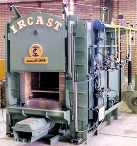 Ircast Car bottom heat treatment furnace