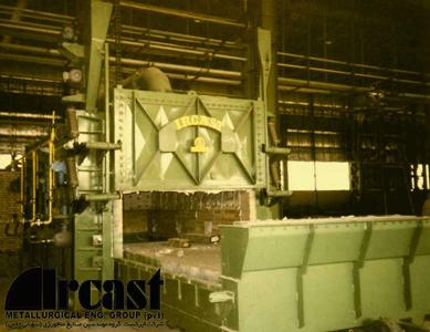 Ircast Car bottom steel austenitizing furnace