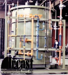 ایرکست ژنراتور تولید گاز اندوترمیک