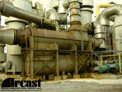Ircast Air convection type preheater