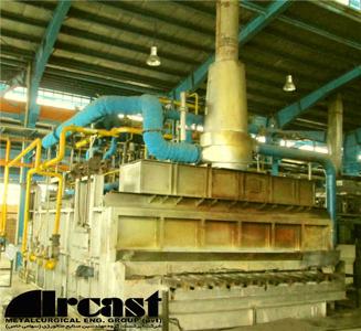 Ircast Roller hearth furnace for steel austenitizing