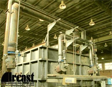 Ircast Stationary Aluminum Melting Furnaces