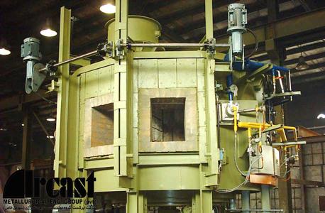 ایرکست کورهی کفگرد پریهیتر(پیشگرم) فولاد