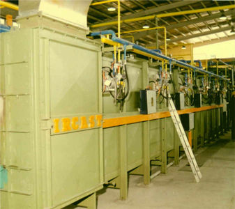 Ircast Automatic continuous tempering system